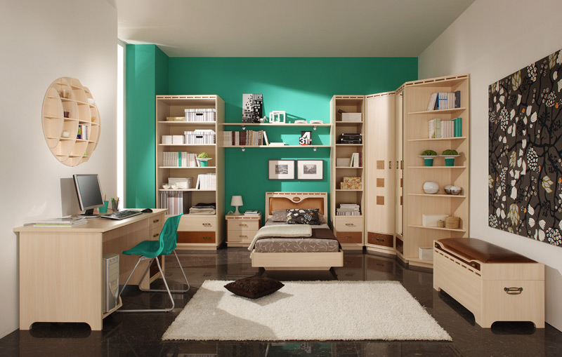 Молодежная комната дизайн